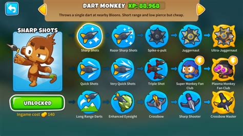 Dart Monkey Guide (Bloons TD 6) — Noobs Guide